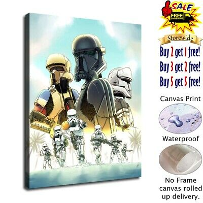 star wars stormtroopers HD Canvas prints Home Decor Wall art picture 12X16inch