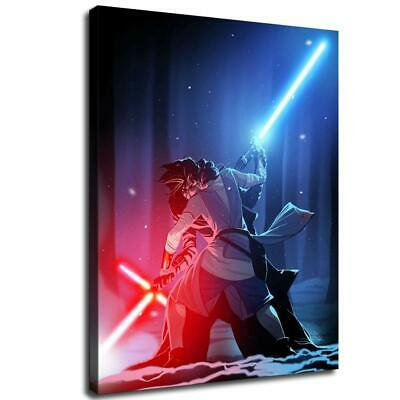 "12""x16""  star wars poster HD Canvas prints Home Decor Wall art picture character"