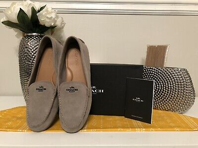 911feeee COACH WOMENS MARY Lock Up Driver Size 7.5 - $59.00 | PicClick