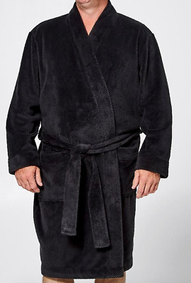 Personalised Embroidered Mr Big Jacquard Fleece Dressing Gown