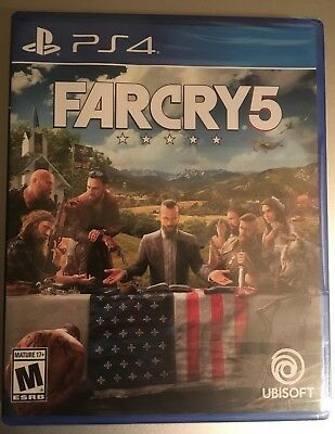 Far Cry 5 (Playstation 4 2018) - Brand New factory sealed in retail packaging