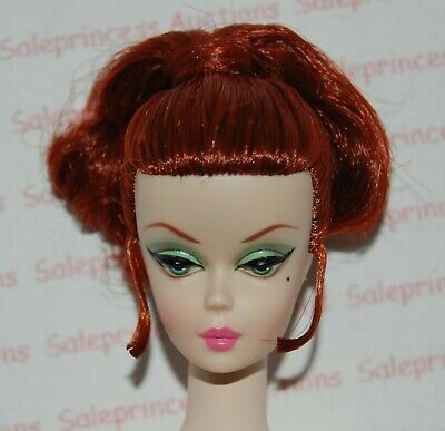 NEW 2013 Barbie Silkstone Luncheon Ensemble Redhead Nude Doll Gold Label Loose