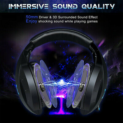 ONIKUMA K7 Gaming Headset Stereo Gaming Noise-cancelling Wired Headband Ear Phon
