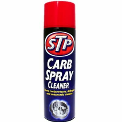 12x STP CARB CLEANER SPRAY - CARBURETTOR CLEANER - 500ML