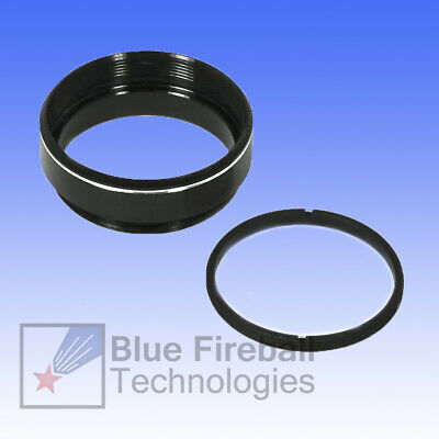 """Blue Fireball Empty 1.25"""" Astronomical Filter Cell with Retaining Ring # S-1F"""