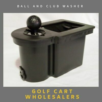 Golf Cart Car Cart  Ball & Club Washer Suit Most Carts With Mounting Brackets