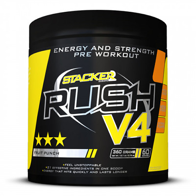 RUSH V4 STACKER 2 aromes cola