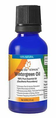 Wintergreen Essential Oil 100% Pure & Natural Oil Gaultheria Procumbens
