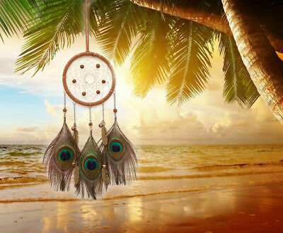 Handmade Dream Catcher Home Feathers Decor Wall Decoration Hanging Cars Ornament