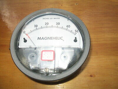 Dwyer Magnehelic Differential Pressure Gauge 0-50""