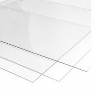 Perspex Glass Styrene and M.D.F For Picture Photo Frames Clear Transparent Sheet