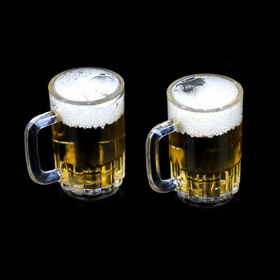 1:6 Dollhouse Miniature Drink of Beer Model Pretend Play Liquid To CER