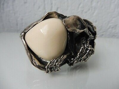 Very Beautiful,Old Bracelet,925 Silver, with White Stone, 88,4 Grams