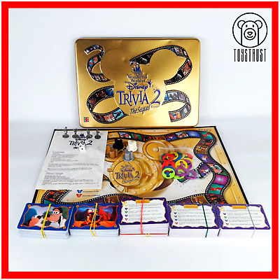 DISNEY SCENE IT The DVD Game Family Board Game Trivia Quiz
