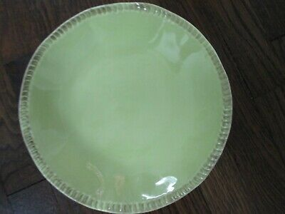 CRATE & BARREL MANO green coupe soup-cereal-salad bowl.