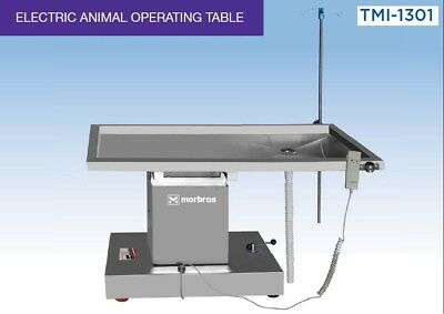 Veterinary Surgical Operating Table Model TMI 1301 Electric Lift Up and Down @@