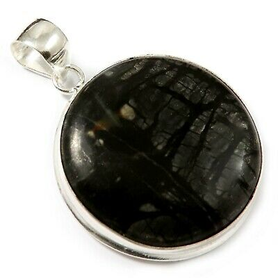 Picasso Jasper Natural Gemstone Pendant Silver Plated Jewelry GPAA16