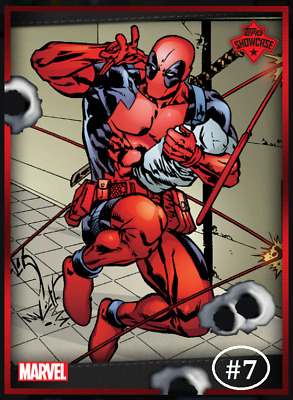 Topps Marvel Collect Card Trader Showcase Deadpool #7 [Digital]