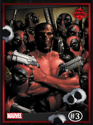 Topps Marvel Collect Card Trader Showcase Deadpool #3 [Digital]