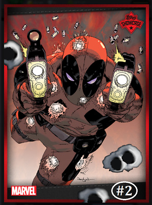 Topps Marvel Collect Card Trader Showcase Deadpool #2 [Digital]