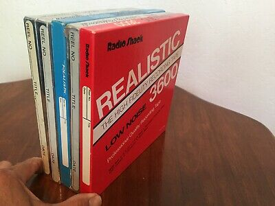 Realistic Supertape - Realistic 3600 - Reel to Reel - Used (5)