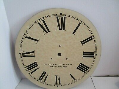 Standard Electric Time Co. Clock Dial  - #D-5
