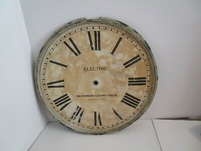 Standard Electric Time Co. Clock Dial  - #D-14