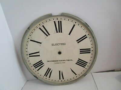 Standard Electric Time Co. Clock Dial  - #D-15