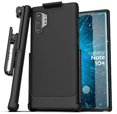 Samsung Galaxy Note 10 Plus Belt Clip Case Thin Grip Cover with Holster
