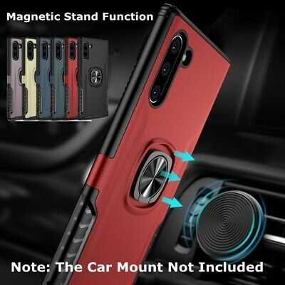For Samsung Galaxy Note 10 Plus Case Retro Heavy Duty Hybrid Rubber Rugged Cover