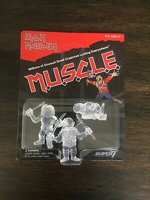 Super7 Iron Maiden Muscle Figure Glow in the Dark GITD M.U.S.C.L.E.