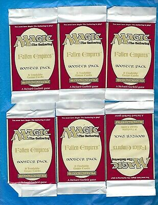 Magic The Gathering Fallen Empires Booster Packs 10 Pack Lot New Sealed Mtg