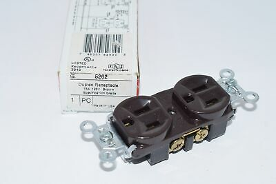 Pass & Seymour 5262 Duplex Receptacle 15A 125V Brown