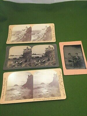 Lot cliff house inn san francisco stereotypes tintype Seal Rock