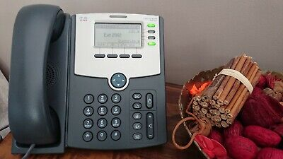 CISCO SPA525G TELEFONO voip ip 5 Lineas Switch POE y LCD