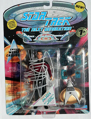 NEW 1994 Star Trek TNG - WIL WHEATON AUTOGRAPH Action Figure WESLEY CRUSHER Toy