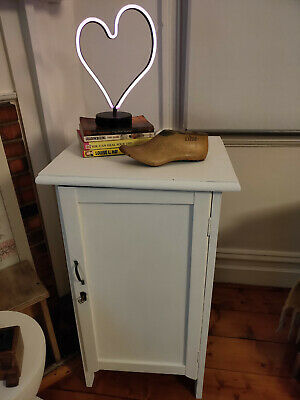Vintage Cabinet Cupboard or bedside table with lock and key