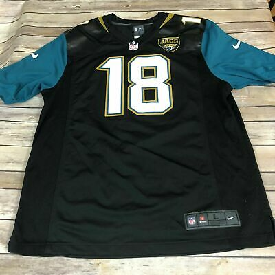 NFL Nike On Field Jacksonville Jaguars Ace Sanders #18 Large USC Gamecocks