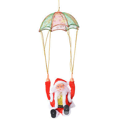 Special Singing Electric Parachuting Santa Claus Toy Batteries Not Included