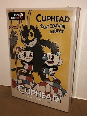 CUPHEAD DON'T DEAL With The Devil 1000 Piece Puzzle