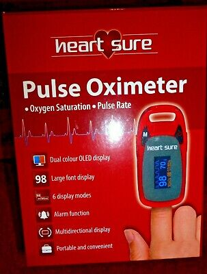 Omron Heart Sure  Finger Tip Pulse Oximeter A320  You Save