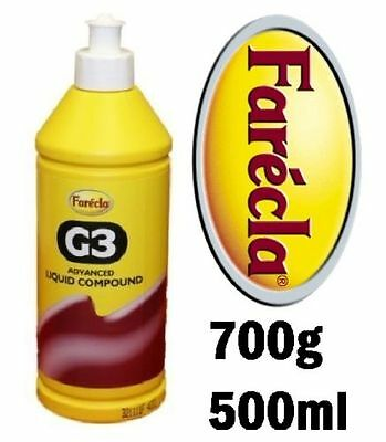 NO.1 Farecla G3 Advanced Liquid Compound 500ml Bottle Car Polishing BEST