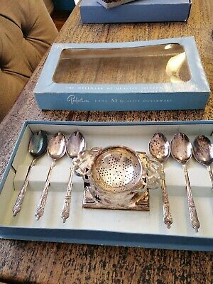 Perfection epns Silver Plated Tea/ Spoon Set