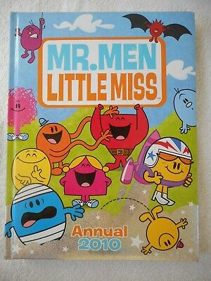 Mr Men Little Miss, Annual 2010, H/C Roger Hargreaves