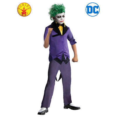 Rubie's Licensed DC Comics The Joker Kids Deluxe Costume Size M **FREE DELIVERY*