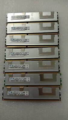 64gb 8 X 8GB 2RX4 PC3L-10600R  Server Memory Samsung M393B1K70CHD-YH9