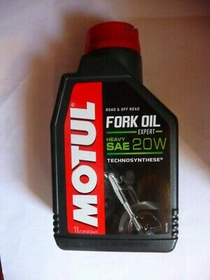Huile hydraulique fourches. Fork Oil Expert Heavy SAE 20W synthèse (1L) - MOTUL