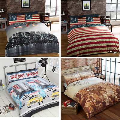 Rapport NYC Empire State New York City Duvet Cover Bedding Sets FREE P&P
