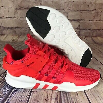 ADIDAS EQT SUPPORT ADV Mens CQ3004 Real Coral White Knit