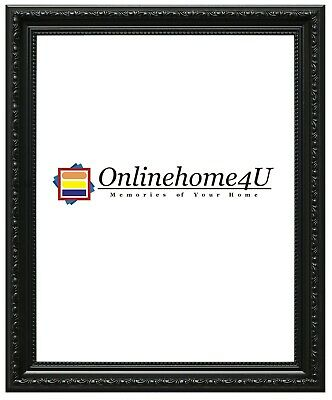 Shabby Chic Black Photo Picture Frames With Mounts Modern Style New Photo Frames